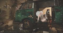 Turn your fears into trust. (Rosenrott Blackheart ☾) Tags: 3d expresion expression elf elven edit edition secondlife segundavida female feelings albine albino asian elfa moments magic mujer maitreya cyberpunk star steampunk amistad strange