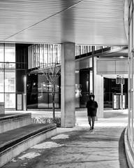 Late evening walk (George Stastny. Photographer.) Tags: street streetphotography streets monochrome blackandwhite bnw bw edmonton alberta canada getolympus olympus omd