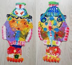 pla-fish7 (Albert_Roos) Tags: cobra colorfullsculpture creature mask face printwaist filament 3dprint 3d print waist