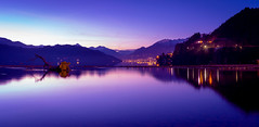 Millstäter see (Madpenguin Photo) Tags: millstätersee see lake sunset alps dobriach austria alpes mountains montagnes