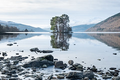 Loch Tay at Kenmore (Stan Farrow Photography) Tags: approved loch tay kenmore perthshiore trees island landscape winter
