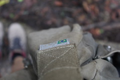 Brasil. (quetepasaline) Tags: brasil bag details tag detalhes bolsa