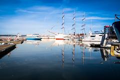 Reflection (Maria Eklind) Tags: operan autumn båt lillabommen gothenburg göteborg reflection spegling sweden boat barkenviking gothenburgopera höst city västragötalandslän sverige se