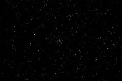 M34 Spiral Cluster [Юпитер 37А 135mm, f3.5, 2.5sec, 96light, 21darck, 1600iso max, 4min DSS-FITS-LightRoom] M34 Скопление Спираль g25 [2x3 bw] (AleXBlackCat) Tags: astro astronomy astrophoto ukraine e520 kiev sky night nightsky star m34