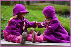 Tivi und Anne-Moni ... (Kindergartenkinder 2018) Tags: schloss arcen kindergartenkinder tivi annemoni