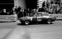ALFA-ROMEO GTAm en el G.P. Granollers de 1.971 (Manolo Serrano Caso) Tags: alfaromeo gtam granollers juncadella escuderiamontjuich tergal race car