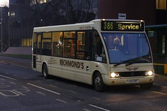 Stand-In: Richmond's Coaches Optare Solo M850 YJ05XMY The Causeway Bishops Stortford 27/12/18 (TheStanstedTrainspotter) Tags: bus buses bishopsstortford public transport publictransport bishopsstortfordinterchange richmonds barley richmondsofbarley optare solo m850 optaresolom850 optaresolo yj05xmy 386 stevenage thecauseway unusual rarre