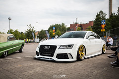 A7 (RSipp) Tags: audi a7 airsuspension cdlc fittedfest lowlifer stance fitment finland lahti 2018
