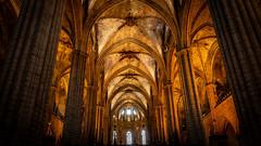 In der Kathedrale von Barcelona (Doblinus) Tags: 2018 kathedrale msartania lacatedraldelasantacreuisantaeulàlia kreuzfahrt sony sonyrx100 barcelona spanien mittelmeer