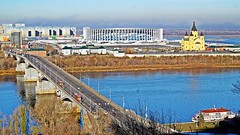 Нижний Новгород (lvv1937) Tags: река ока волга мост храм стадион exploré мыизяфа
