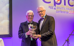 3455 - Aled Griffiths - Winner, Peter Kemp Award for Outstanding Contribution to the British Egg industry with Andrew Joret