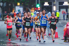 LD4_8881 (晴雨初霽) Tags: shanghai marathon race run sports photography photo nikon d4s dslr camera lens people china weekend november 2018 thousands city downtown town road street daytime rain staff