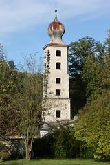 Burghausen: Wasserturm des Klosters Raitenhaslach (Helgoland01) Tags: burghausen bayern deutschland germany oberbayern raitenhaslach kloster zisterzienser wasserturm