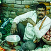 Relaxed Vegetable Vendor, Allahabad India