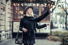 Renata (Vagelis Pikoulas) Tags: krakow poland travel europe bokeh girl woman portrait canon 6d sigma art 85mm f14 lights november autumn 2018 photography photoshoot street