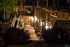 secret alley (yarnim) Tags: decor alley lights outdoor vail colorado lowlight street sony a7m3 a7iii ilce7m3 85mm sel85f18 landscape