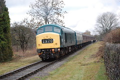 45108 (Mike 7416) Tags: br class 45 peak 45108 east lancashire railway irwell vale