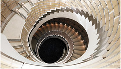 UW- Staircase 1 (FarhadFarhad .(Farhad Jahanbani)) Tags: staircase spiral swirl swivel abstract mobile phone photography time step uw university of washington medical center seattle