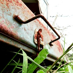 Old Abandoned Stove (randomfocusingpoints) Tags: canonpowershot canonphotography macro macrophotography macroshot closeup closeupphotography art artsy artistic artwork photoart artisticphoto photoartwork artphoto rust coleman colemanstove old oldstuff