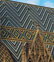 Vienna - Roof of Stephansdom (madbesl) Tags: wien vienna österreich austria europa europe dach roof kirche church dom architektur archtecture olympus omd em10 m10 omdem10 zuiko1250 gotik