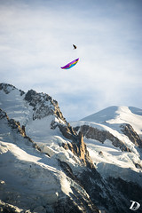 Infinity Tumbling ©DamienDeschamps (deschdam6@gmail.com) Tags: parapente paragliding chamonix montblanc mont blanc sky sport photography action freestyle extreme mountains glacier alps alpes france landscape paysages outdoors adventure blue clouds