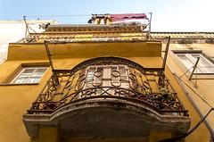 Balconies (Alfama, Lisboa) (Tormod Dalen) Tags: lisboa portugal tamron 1750 travel street architecture europe lisbon lisbonne tamron1750 alfama balconies balcons
