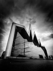 Glasgow Transport Museum (david.travis) Tags: museum unitedkingdom sky architecturalphotography scotland angle shape glasgow