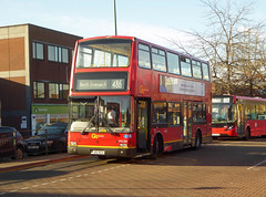 GAL PVL284 - PJ02RCU - NSF - FRISWELL PLACE BEXLEYHEATH - TUE 4TH DEC 2018 (Bexleybus) Tags: goahead go ahead london central pvl284 pj02rcu volvo b7 plaxton president bexleyheath kent da7 shopping centre arnsburg way friswell place tfl route 486