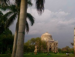 Lodhi garden (pkashyap88) Tags: lodhigarden garden historicalmonument touristattractions clouds trees eveningview