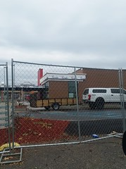 Wendy's rebuild (creed_400) Tags: wendys rebuild construction grand rapids west michigan restuarant fast food november autumn fall