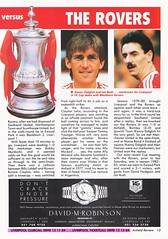 Liverpool vs Blackburn Rovers - 1991 - Page 13 (The Sky Strikers) Tags: liverpool blackburn rovers fa cup road to wembley the anfield review one pound