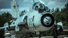 Su-22M4 (kamil_olszowy) Tags: su22m4 sukhoi fitter polish air force fighter bomber 21stafb świdwin epsn poland jet сухой су22m4 siły powietrzne rp ввс польши