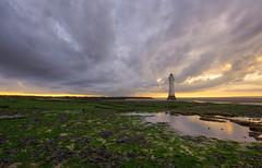 New Brighton Lighthouse (colin@thecranes.co.za) Tags: lighthouse unitedkingdom 2017 newbrightonlighthouse refelction liverpool sunset
