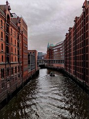 "Views of Hamburg City - The ""City of Warehouses"" by cloudy weather (ANBerlin) Tags: architektur architecture wolken clouds himmel sky heaven brücke bridge haus house wasser water kanal canal schiff ship hansestadt hanseaticcity stadt city städtisch urban altstadt oldtown mauerwerk brickwork ausergewöhnlich extraordinary sehenswürdigkeit pointofinterest pov drausen outdoor infrastruktur infrastructure lagerhäuser warehouses gebäude buildings weltkulturerbe worldheritagesite unesco historisch historical speicherstadt deutschland germany hamburg hafencity anb030 shotoniphone iphotography iphonography 8plus iphone8 iphone apple"