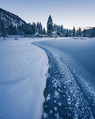 Winter in Tirol (depthobsessed) Tags: tirol austria sonyfe16354zaoss sonyilce7rm3 depthobsessed depthoffield landscape landschaft blau ultraweitwinkel ultrawideangle fullframe hiking lakeside frozen cold