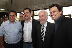 Governador Carlos Massa Ratinho Junior participa da posse do secretário da Agricultura e Abastecimento, Norberto Ortigara