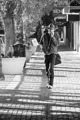 Wichita Cowboy (DJ Wolfman) Tags: wichitaks wichita kansas cowboy city walking street streetshots streetphotography streetphoto olympus olympusomd zuiko 12100mmf4zuiko zd micro43 bw blackandwhite