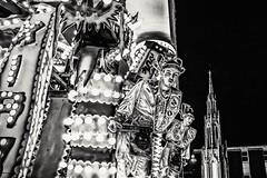 Carnival Time (Andy J Newman) Tags: evening street carnival d810 float glastonbury highiso highstreet lowlight night nikon parade procession somerset england unitedkingdom gb