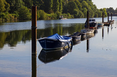 London - Kingston South (Helmut44) Tags: grosbritannien london kingstonsouth themse water shorc river riverbank ship schiff fluss flussufer wasser