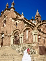 "Day 2 in ERITREA: Friday 14th Dec 2018: The St. Joseph's Cathedral was constructed between 1921 and 1923 and is thought to be one of the finest Lombard – Romanesque –style churches outside Italy.  Asmara, Eritrea  Dec 14th, 2018 #itravelanddance • <a style=""font-size:0.8em;"" href=""http://www.flickr.com/photos/147943715@N05/46109561825/"" target=""_blank"">View on Flickr</a>"