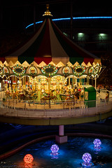 Bright Merry-Go-Round (gemapozo) Tags: merrygoround tokyodomecity pentax night illumination kourakuen tokyo k1mkii japan 東京都 日本 jp hdpentaxdfa50mmf14sdmaw 夜景 イルミネーション 東京ドームシティ メリーゴーランド