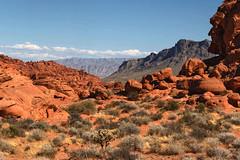 _DSC6399-The-overseer_f (posyche) Tags: valleyoffire nevada desert rock rocks mountains redrocks coloredrock