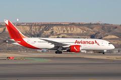 N793AV Boeing 787-8 Avianca (eigjb) Tags: lemd madrid barajas airport international aeropuerto espana spain 2019 jet transport airliner aircraft airplane plane spotting aviation n793av boeing 787 avianca b787 dreamliner 7878 colombia