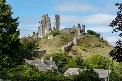 The Ruins (GP - back in a few days) Tags: corfecastle williamtheconqueror dorset ruins hill fortifications stone battlements