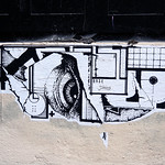 Pasted paper by  Erpi x Black Messenger [Lyon, France] thumbnail