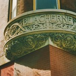Indianapolis Indiana - Blacherne Apartments - Before Renovation  2001  Photo - Historical District - thumbnail