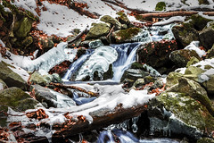 Water and Ice (saromon1989) Tags: water ice waterfall winter snow love riverscape landscape nature nikon d7200 nikond7200