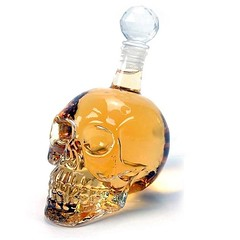 Crystal Clear Skull Head Wine Decanter (mywowstuff) Tags: gifts gadgets cool family friends funny shopping men women kids home