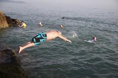 Diving (Paul McNamara) Tags: fortyfoot sandycove dunlaoghaire swimmers dublin ireland man diving
