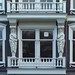 Pure Maidens. Caryatid Balcony, Oudezijds Voorburgwal 131, Amsterdam, The Netherlands